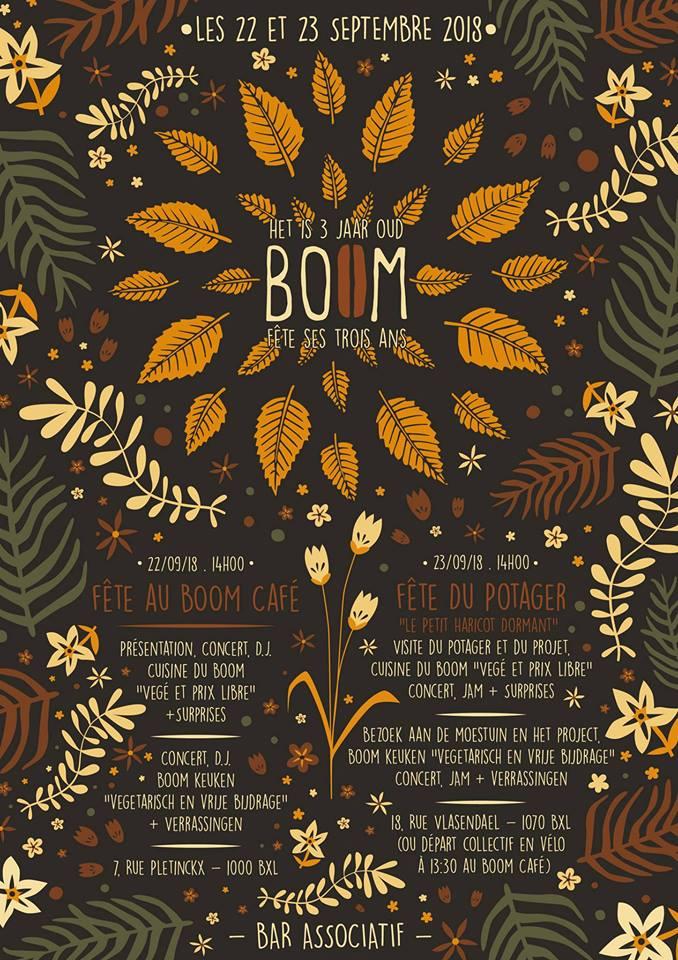 3 ans du BoOM café associatif