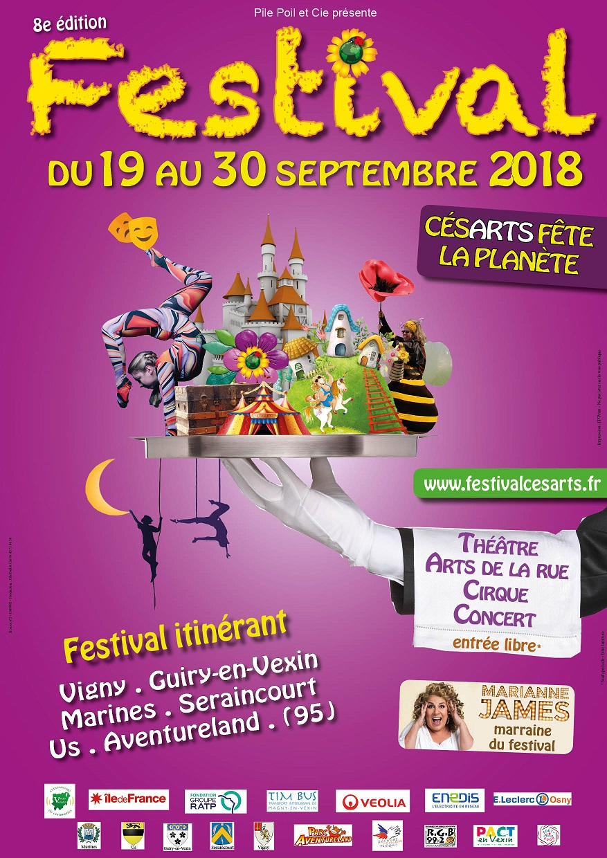 Festival Césarts fête la planète – 8e édition