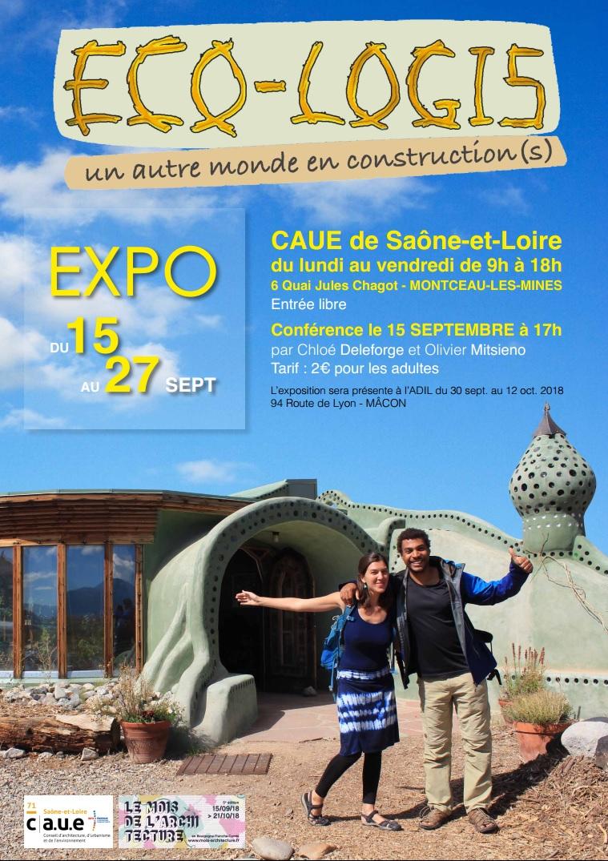 Conférence de Chloé Deleforge et Olivier Mitsieno : Eco-Logis, un autre monde en construction(s)
