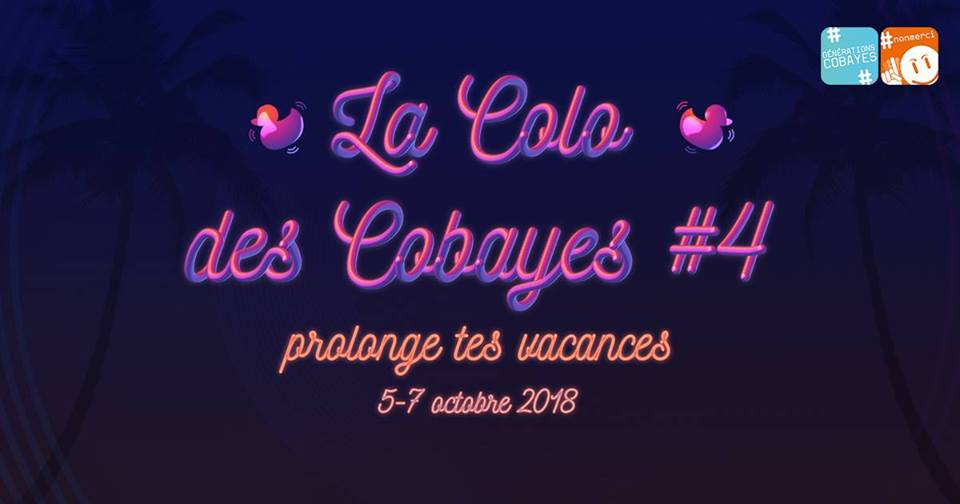 La Colo des Cobayes 2018