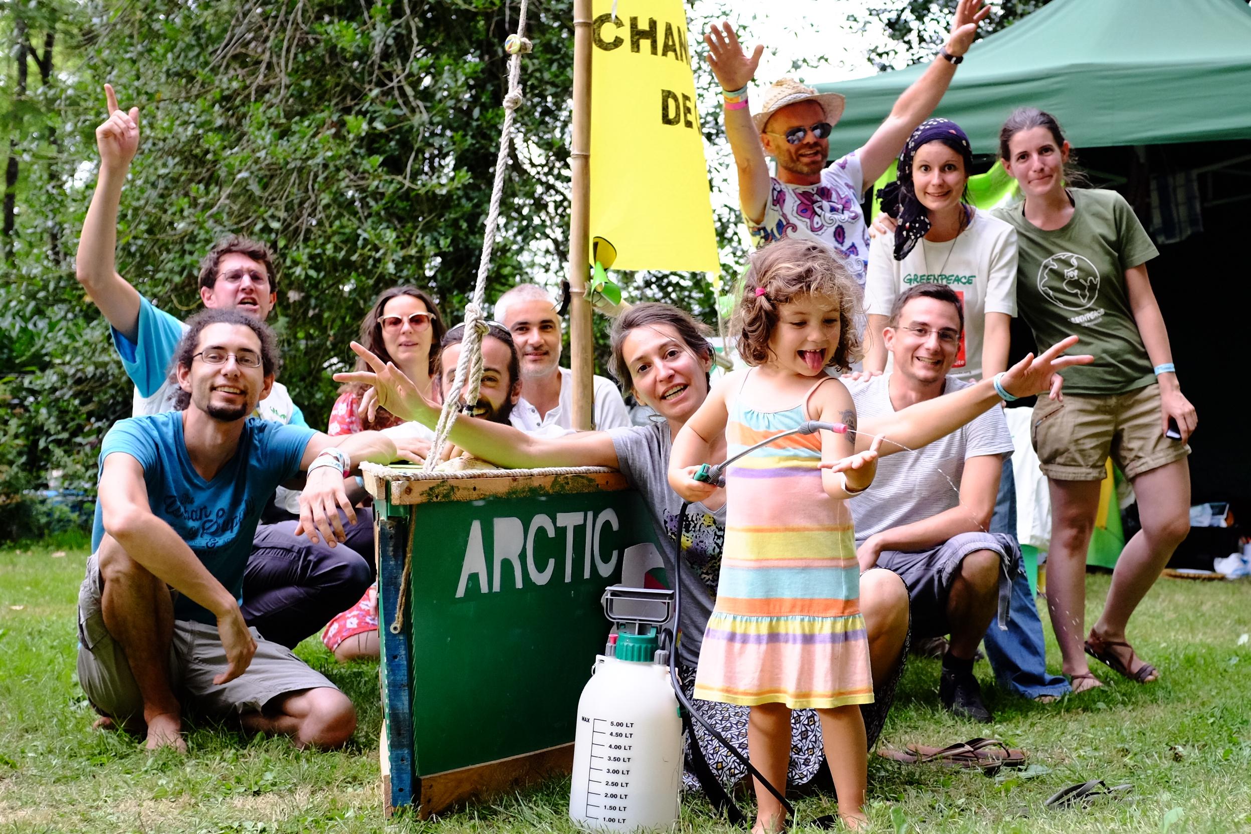 Présentation publique du groupe local Greenpeace Tours