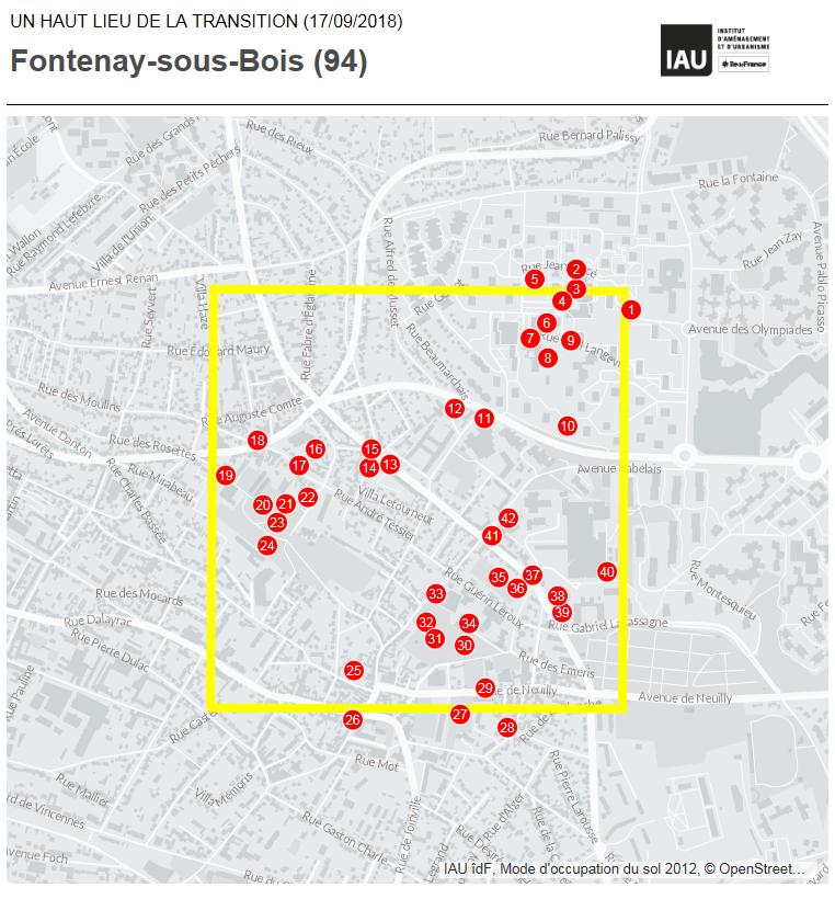 Les Hauts Lieux de la Transition de Fontenay-sous-Bois