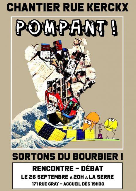 Chantier Kerckx : sortons du bourbier !