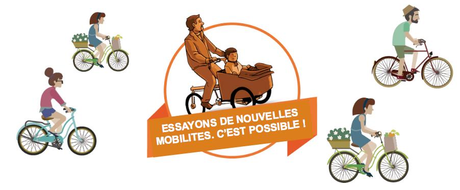 Essayons de nouvelles mobilités, c'est possible  !
