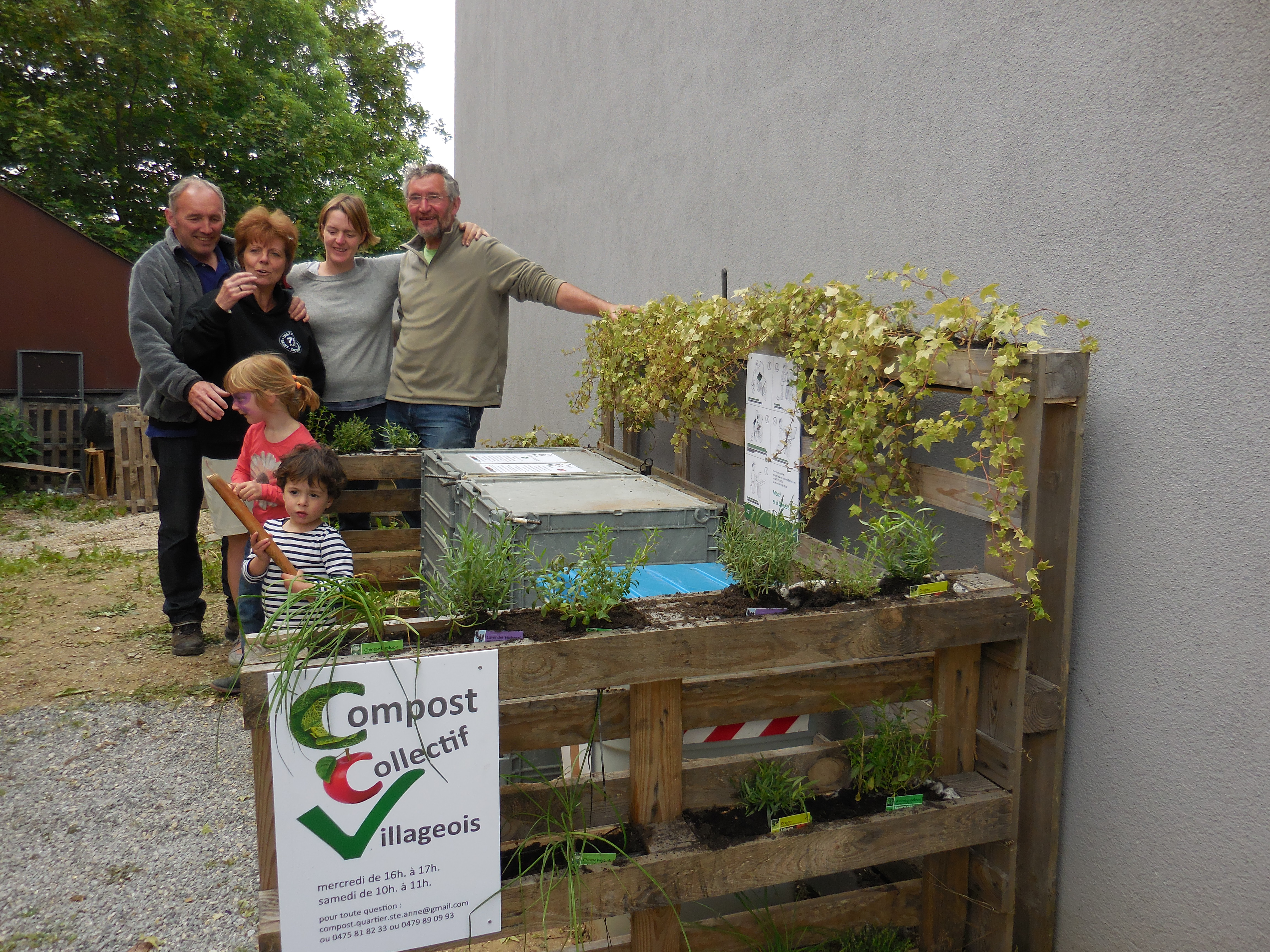 Compost Collectif Villageois