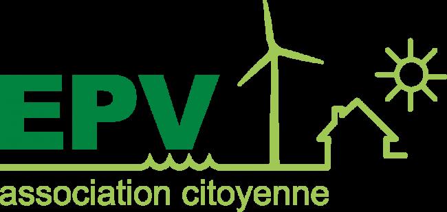 Logo EPV (Energies citoyennes en Pays de Vilaine)