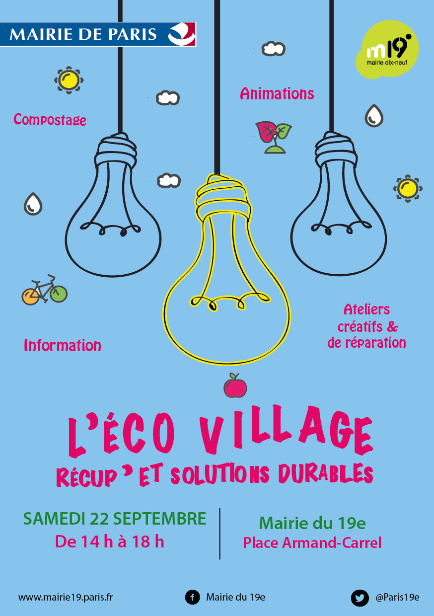Éco-Village : récup' & solutions durables