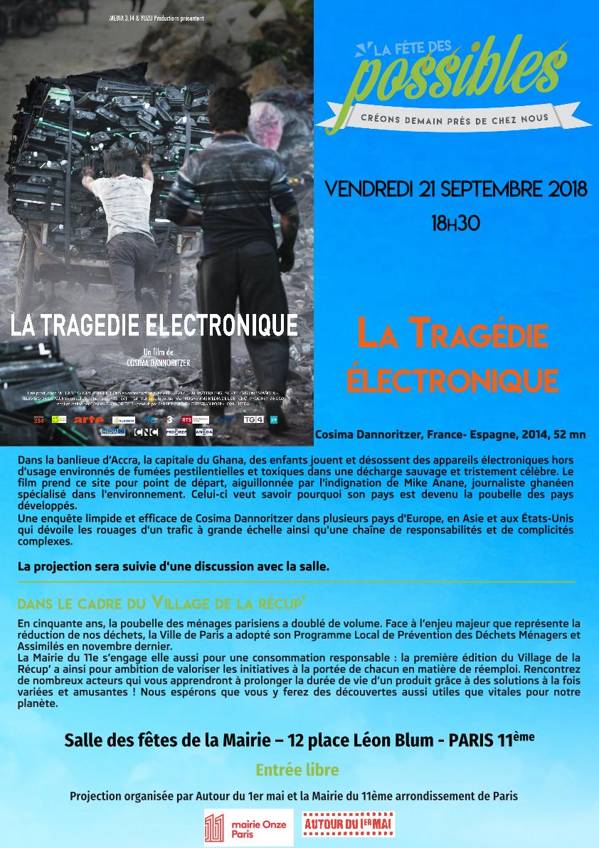 Projection «La Tragédie életronique»