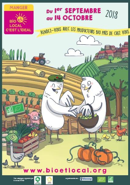 Dégustations de produits bio locaux et rencontres avec les agriculteurs bio partenaires du magasin
