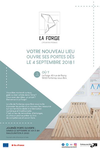 Inauguration du tiers lieu «La Forge»
