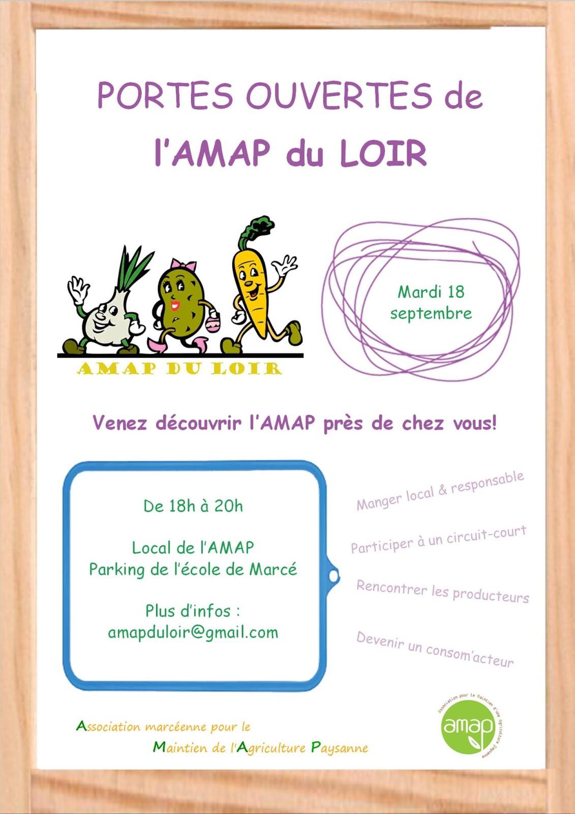 Portes Ouvertes de l'AMAP du Loir