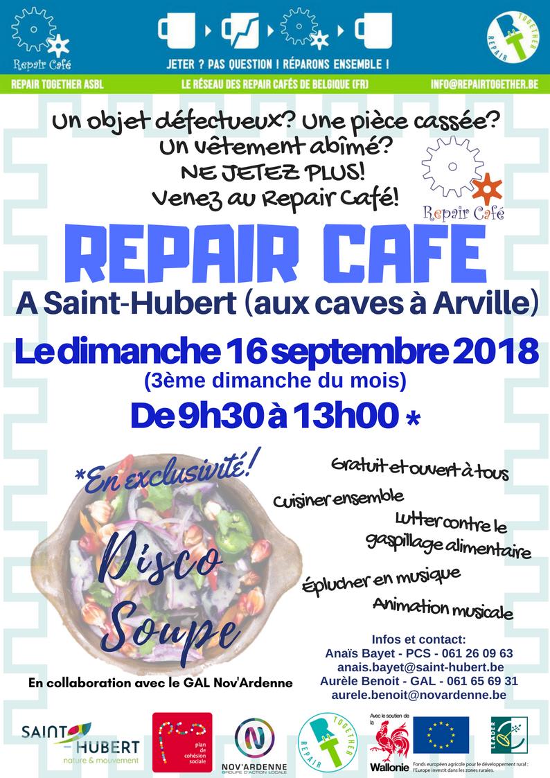 Repair Café et Disco Soupe