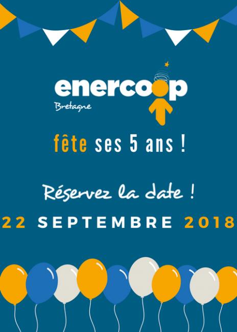 Enercoop Bretagne fête ses 5 ans