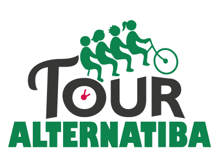 Vélorution avec le tour Alternatiba