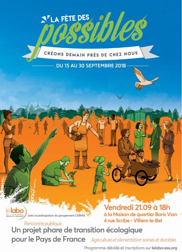 Transition écologique en Pays de France : Agriculture et alimentation saines et durables