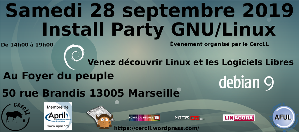 Install Party GNU/Linux