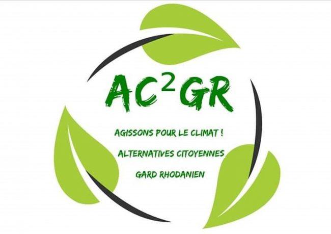 Logo Association Agissions pour le Climat ! Alternatives Citoyennes - Gard Rhodanien