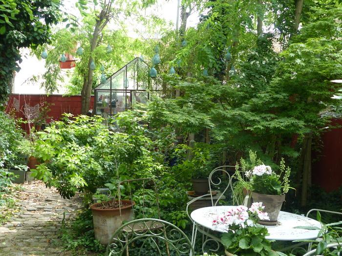 Visites du Jardin éco-poétique du 16 bis et animations dans la cour du 16 bis