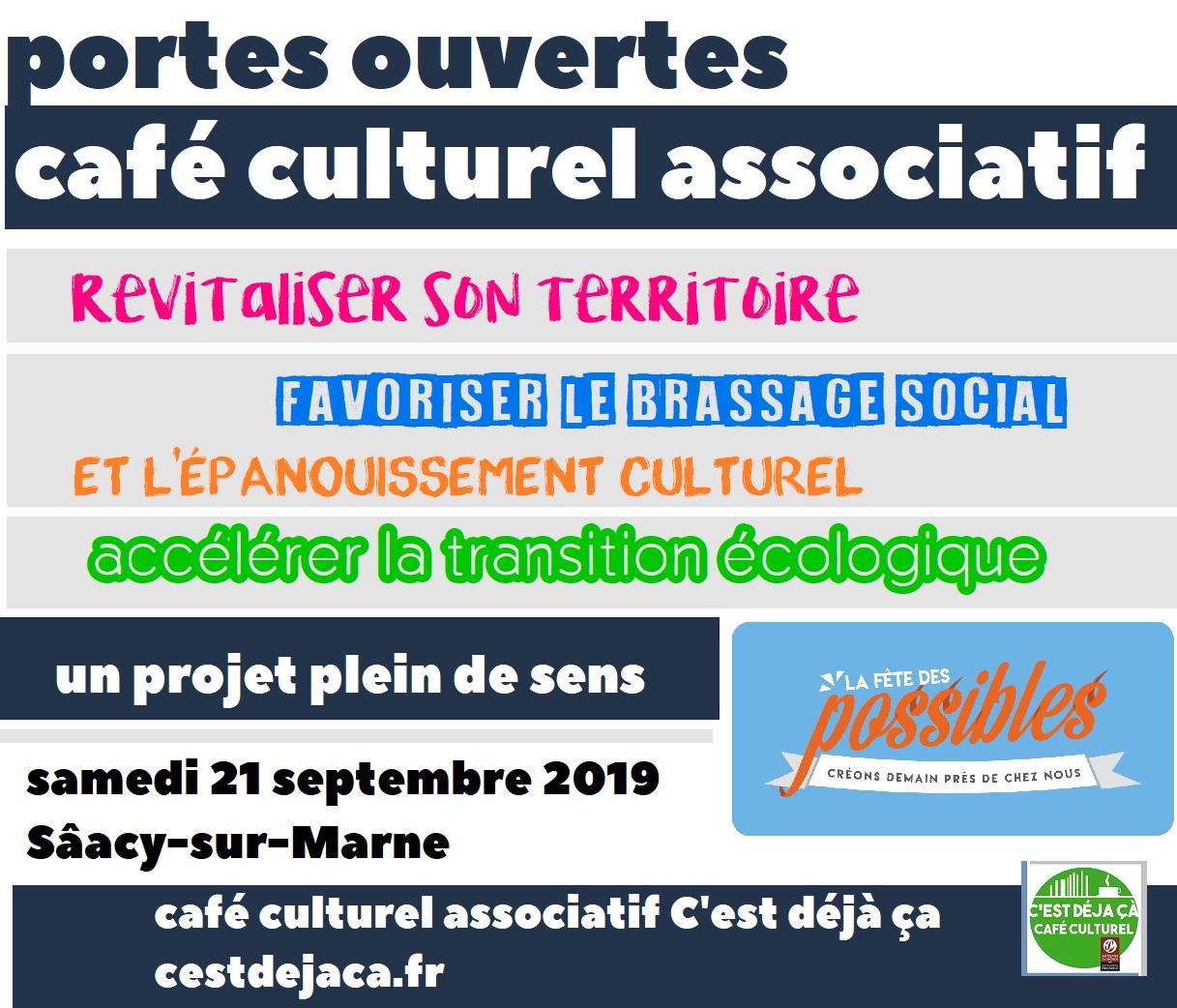 Transition écologique : créer un café culturel associatif