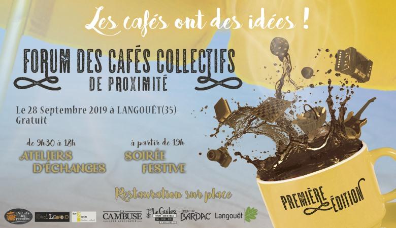Les cafés ont des idées ! Forum des cafés collectifs de proximité bretons
