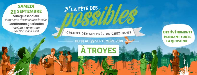 A la Rencontre des Possibles de Troyes