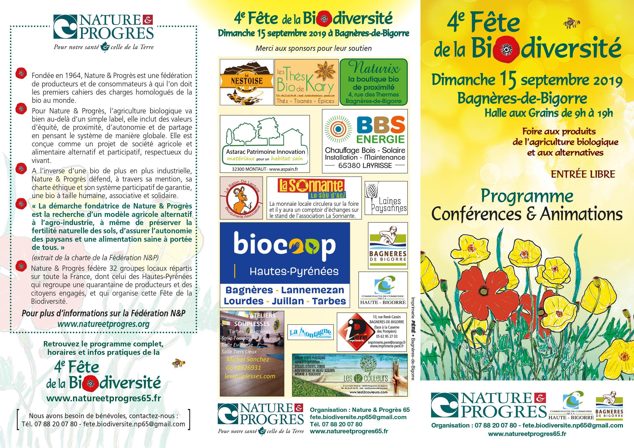 4ème Fête de la Biodiversité