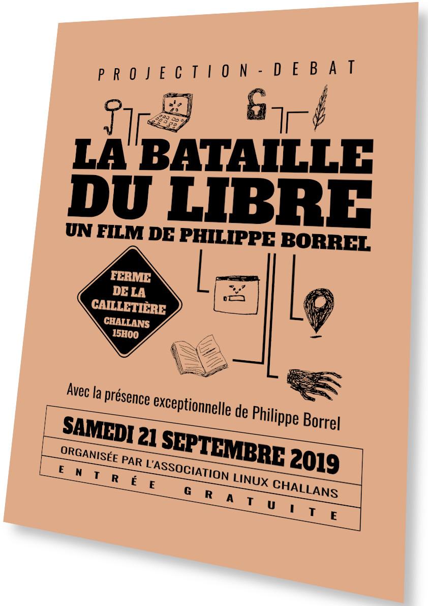 Projection – débat du film «La bataille du Libre» de Philippe Borrel