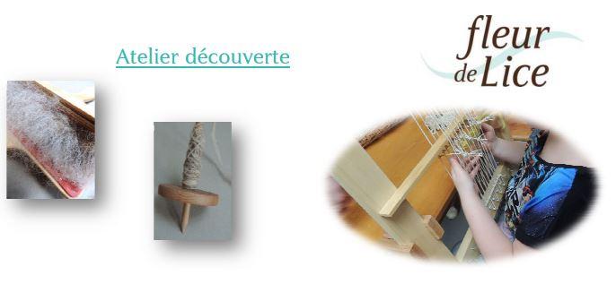 Atelier de tissage artisanal éthique «fleur de Lice»