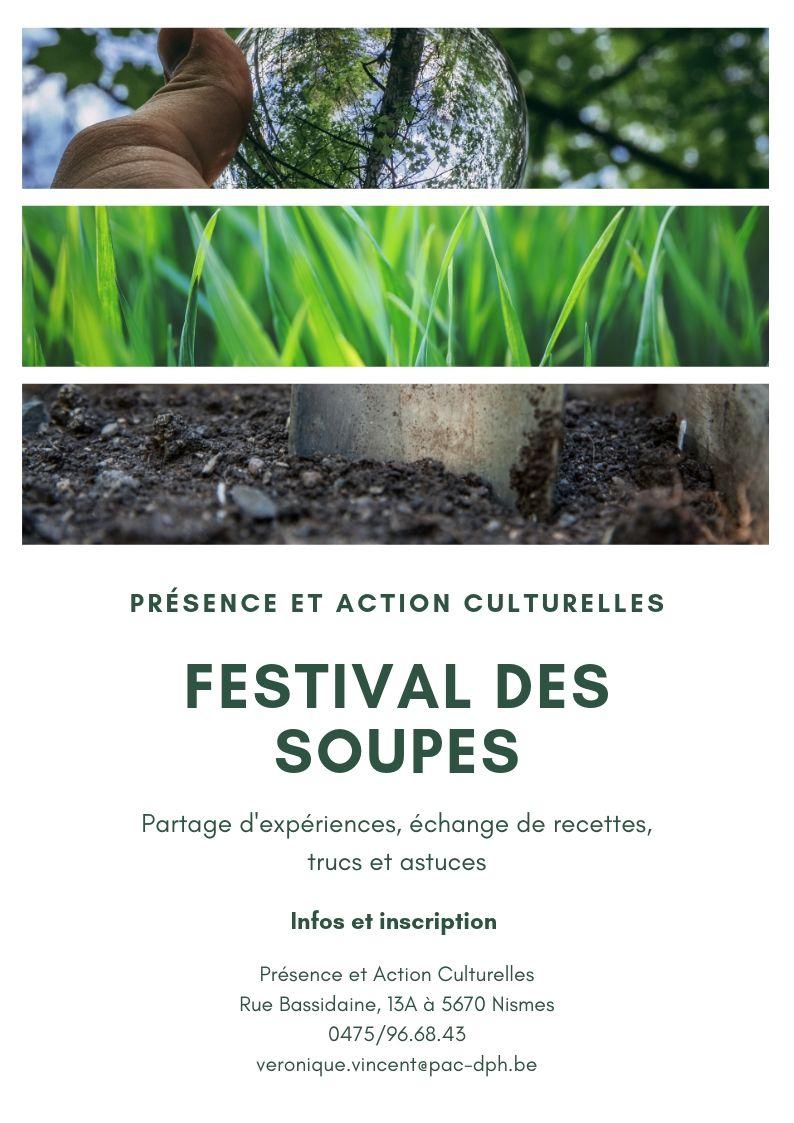 Festival des Soupes des jardins «Terre en Vue et Herbes Folles»