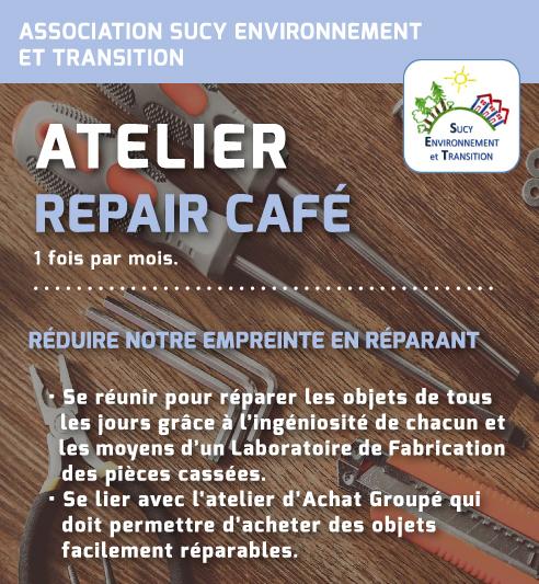 Repair Café de Sucy-en-Brie