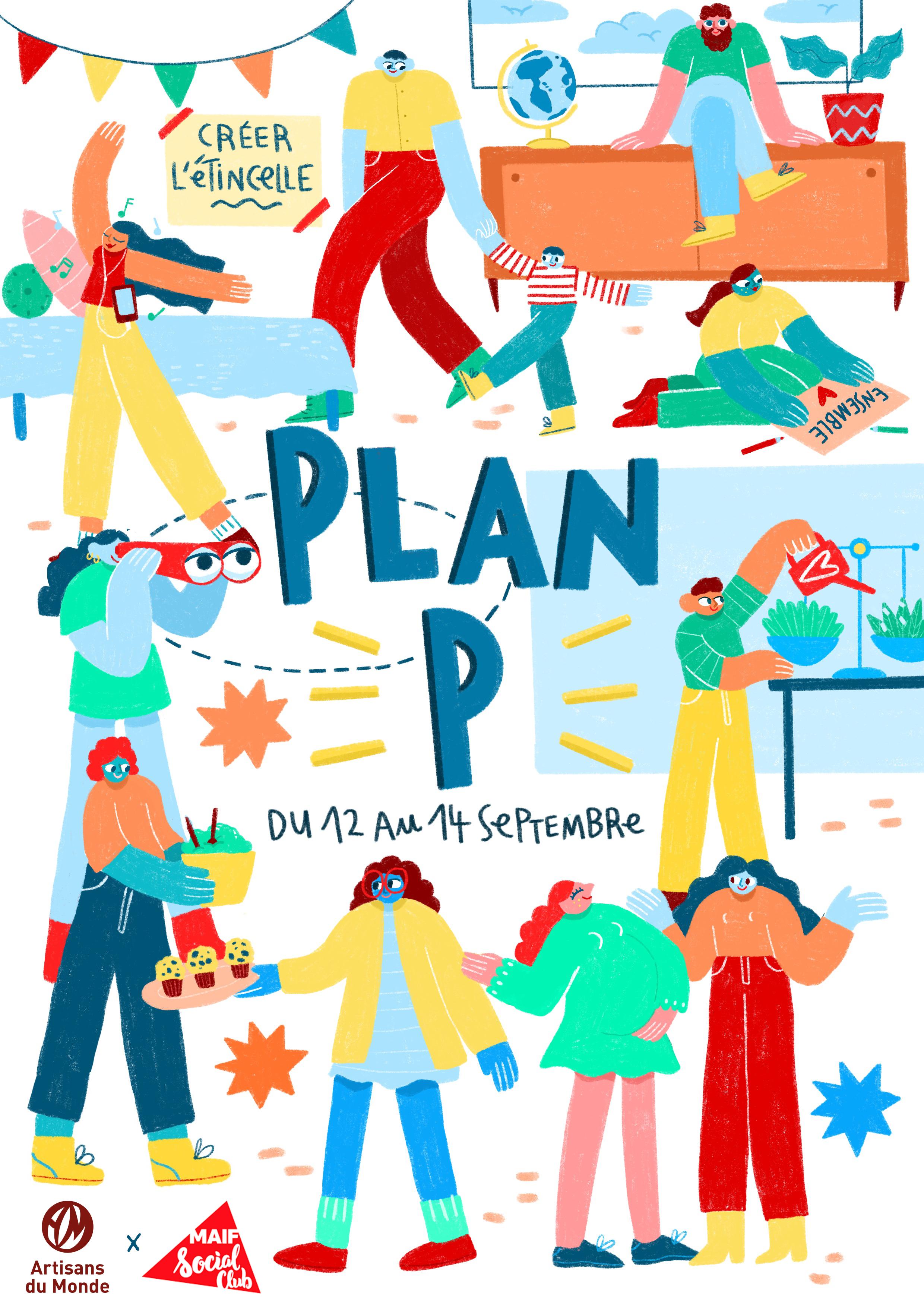 Plan P, un appartement unique à la découverte des alternatives engagées