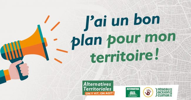 Lancement du plan Alternatives Territoriales