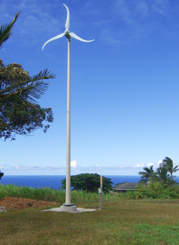 Visite gratuite d'une éolienne domestique