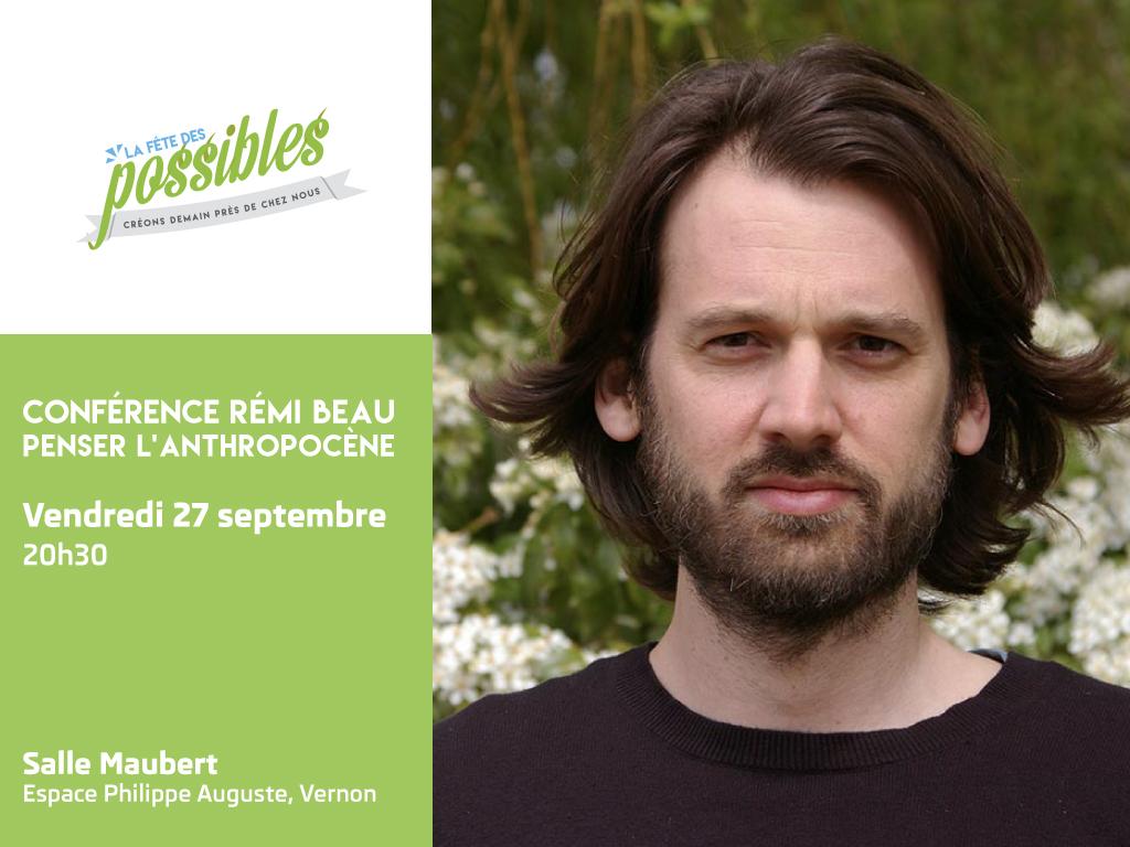 Conférence «Penser l'Anthropocène»