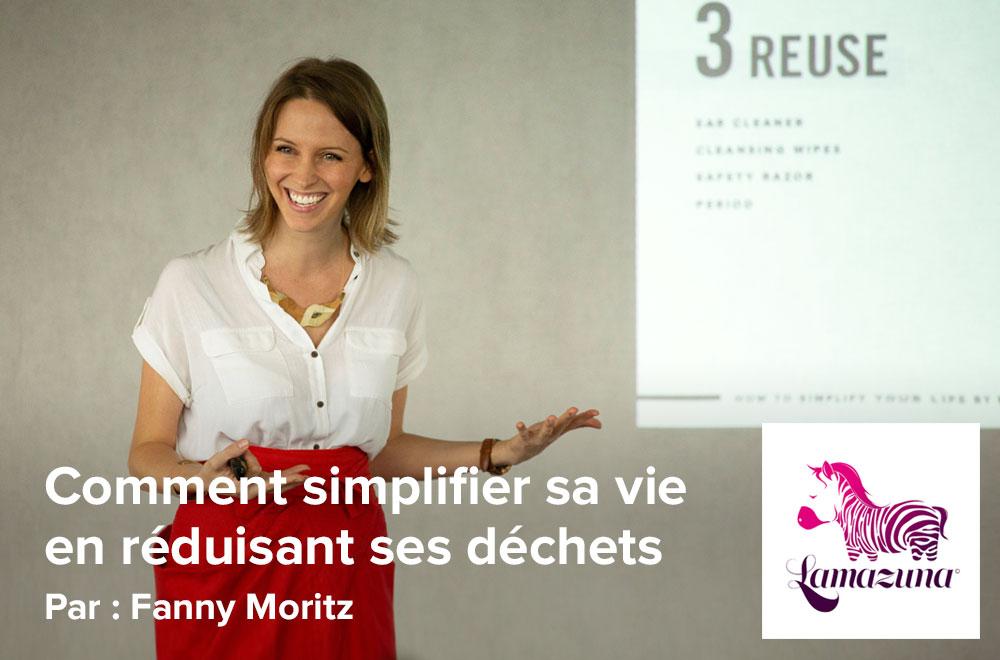 Conférence Zéro Déchet à l'atelier-boutique Lamazuna, par Fanny Moritz