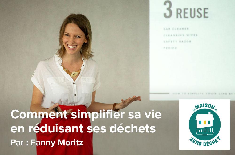 Conférence zéro déchet à La Maison Du Zéro Déchet, par Fanny Moritz