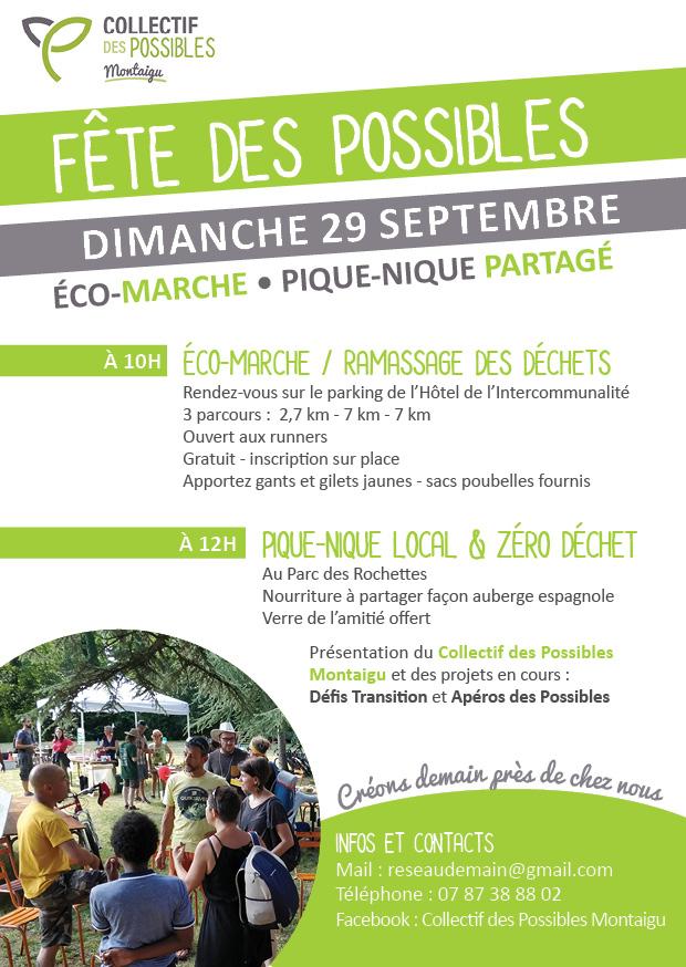 Eco-marche et Fête des Possibles