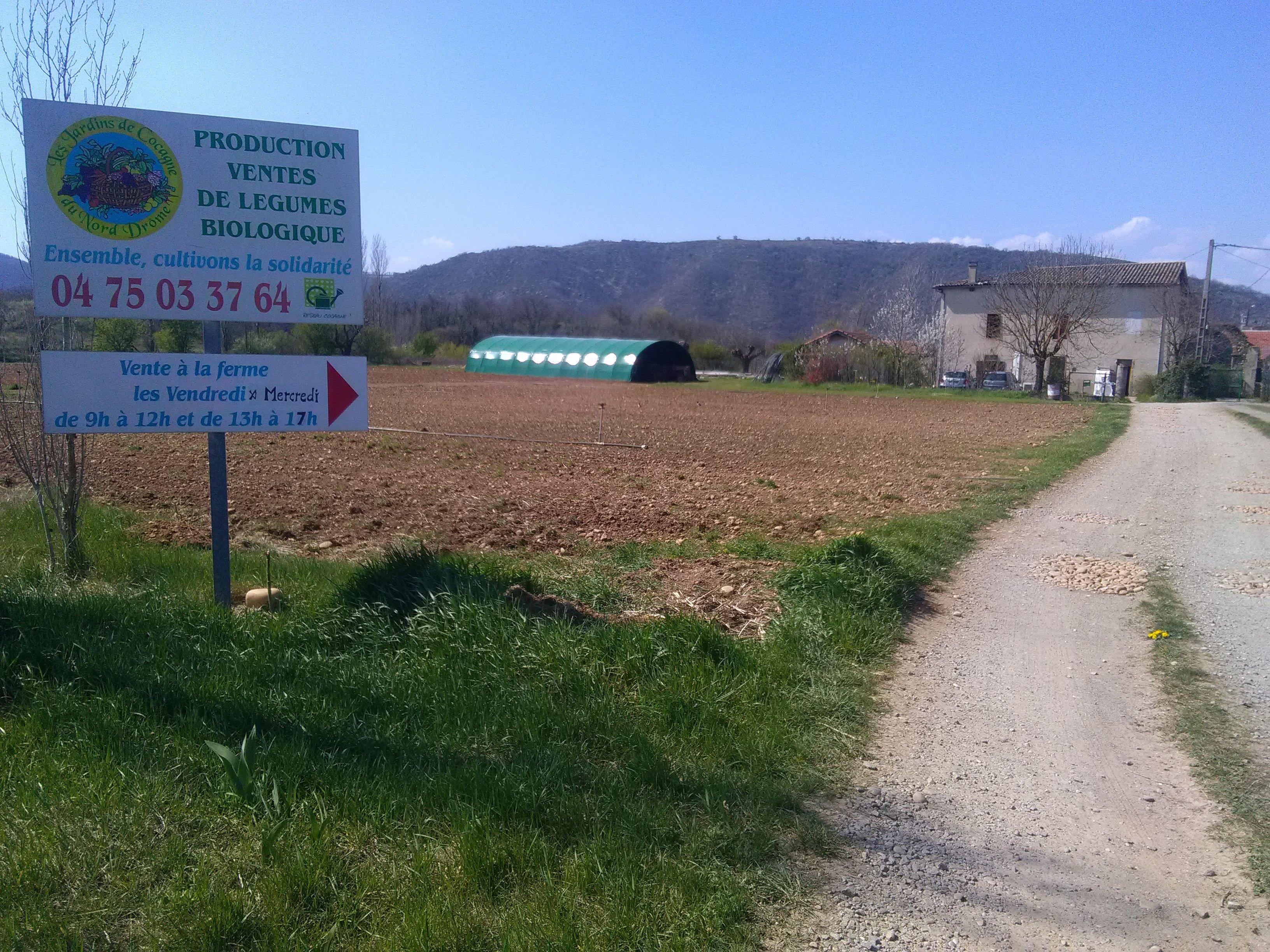 PORTES OUVERTES Les Jardins de Cocagne du Nord Drôme
