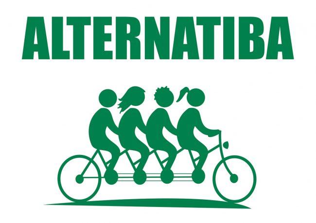 Logo Alternatiba La Rochelle, Ensemble pour le Climat et le Vivant La Rochelle
