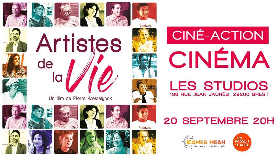 Cine Action autour du film «Artistes de la vie»