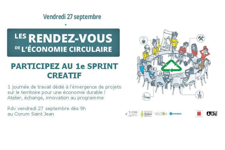 Sprint Créatif – Economie Circulaire