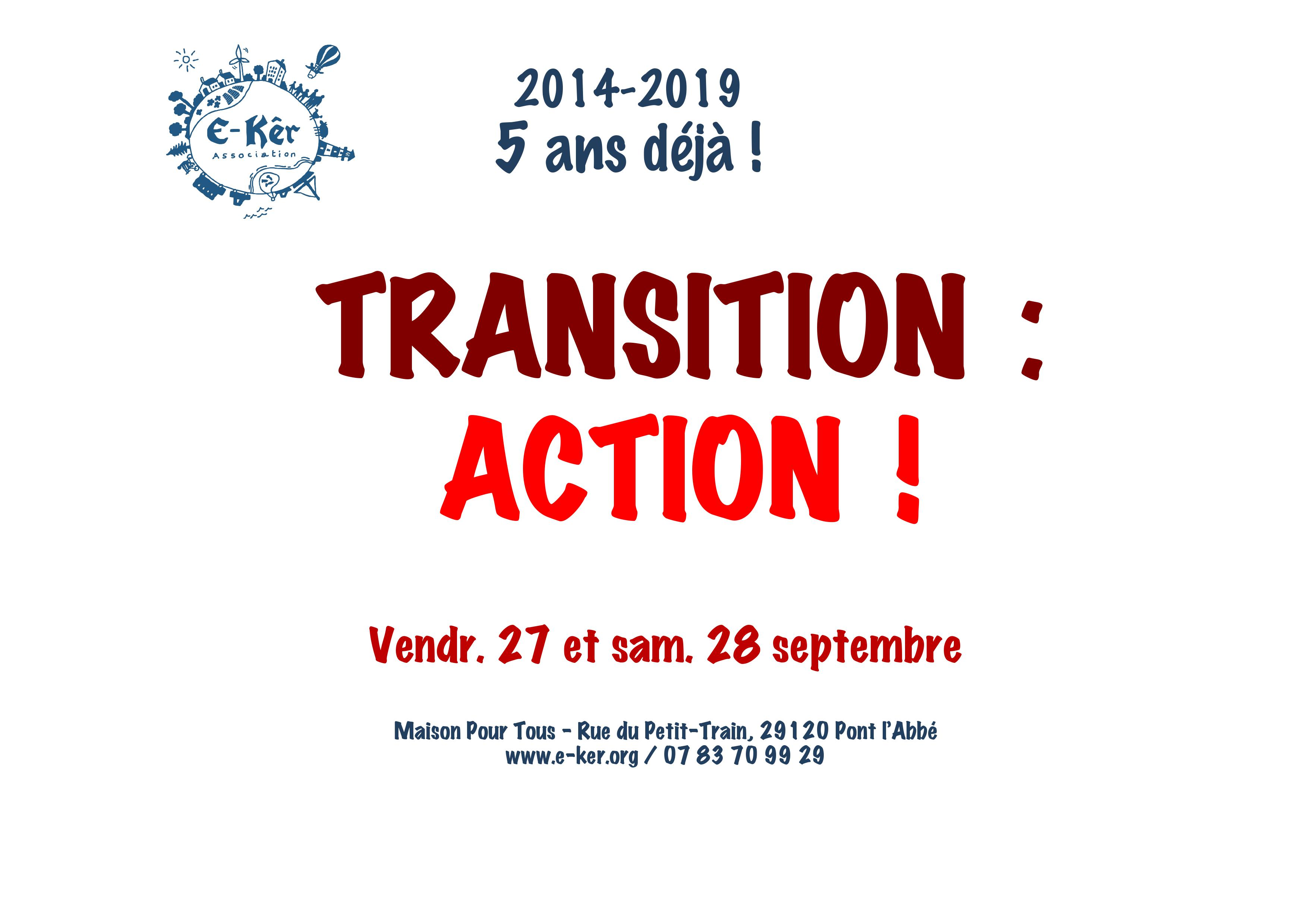 Transition 2019 : Action !