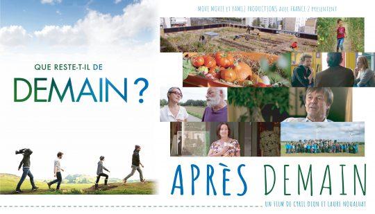 FILM «APRÈS DEMAIN» le 28 SEPTEMBRE 20h30 à COMBOURG et gratuit