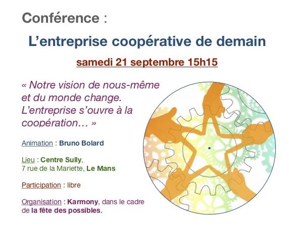 Conférence : L'entreprise coopérative de demain