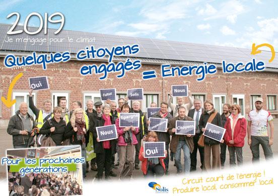 Une toiture solaire photovoltaïque collective et citoyenne près de chez vous, c'est possible avec l'association Solis !