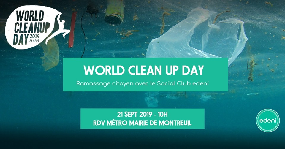 World CleanUp Day Montreuil