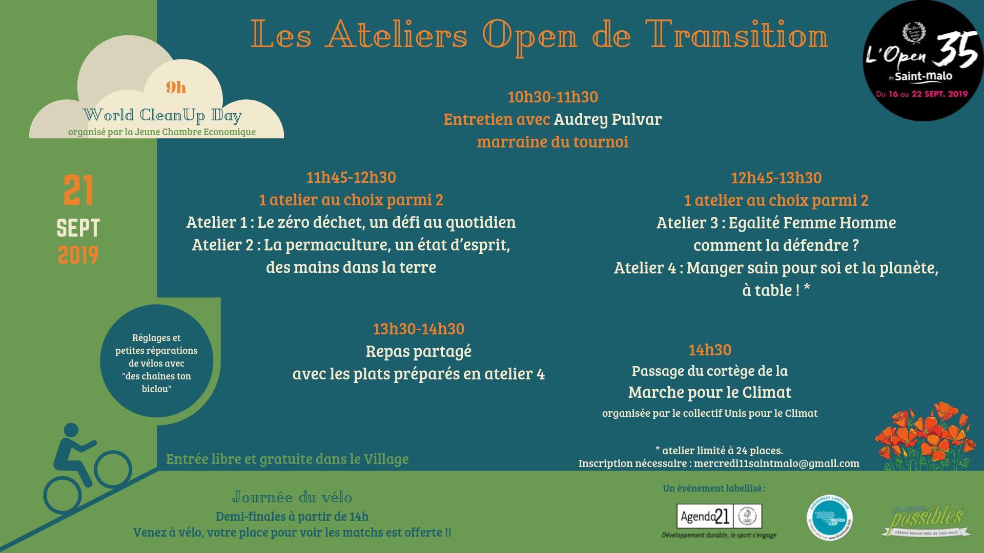 Les Ateliers Open de Transition