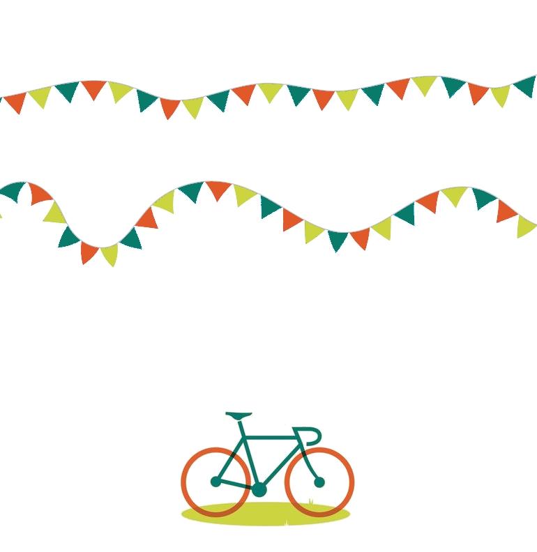 Fête au vélo à Liège