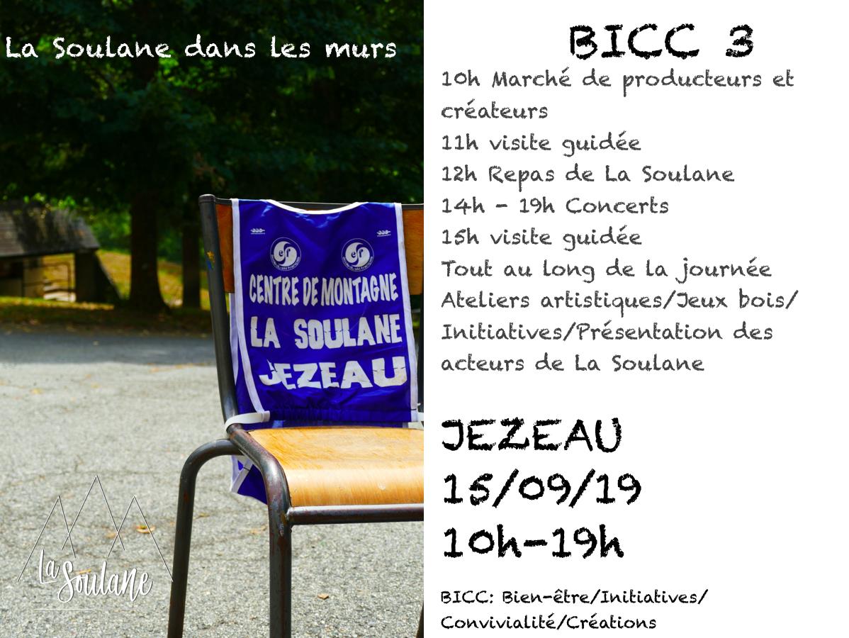 la BICC #3 (Bien être, Initiatives, Créativité, Convivialité)