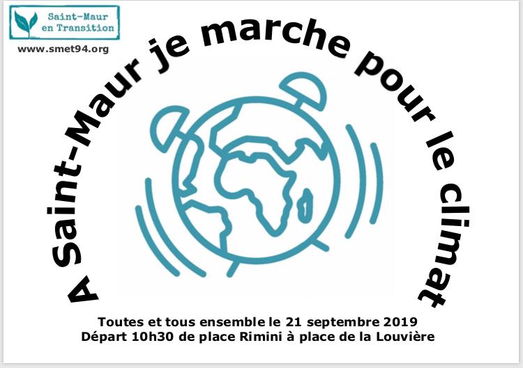 Marche pour le climat à Saint-Maur